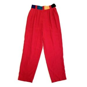 City Girl Vintage Pleated Pants Size 12